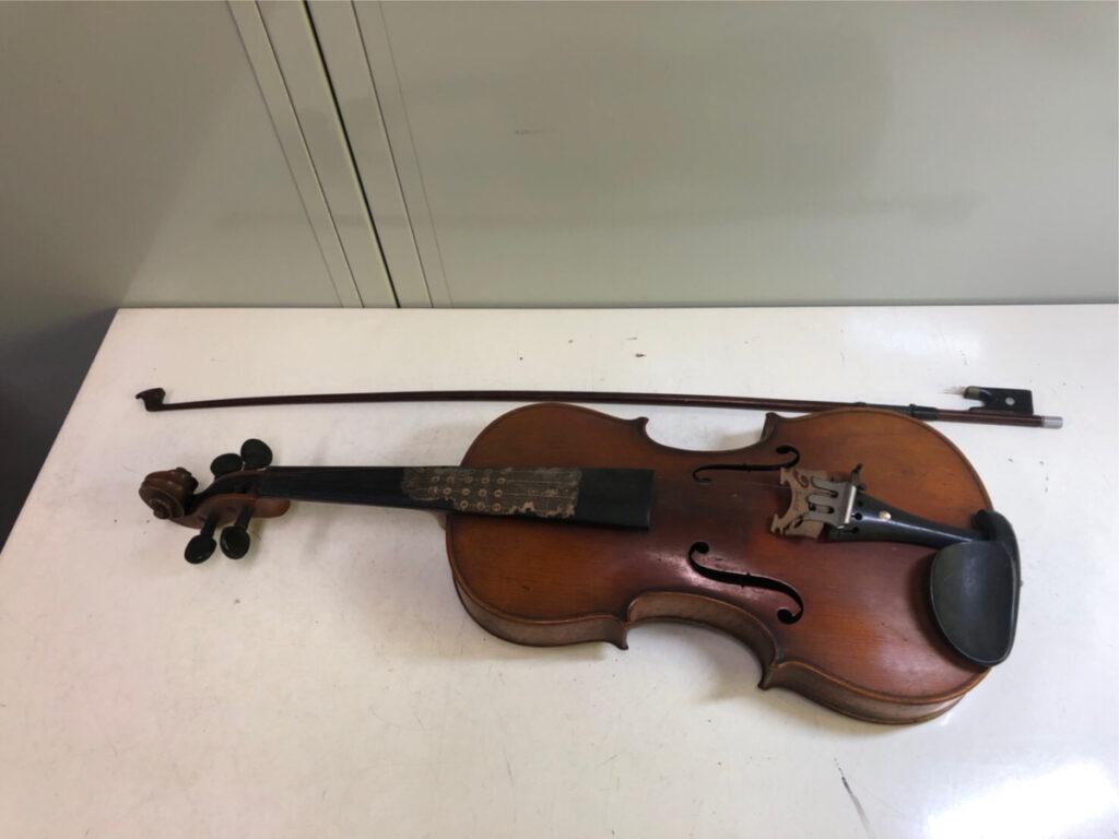 鈴木政吉 バイオリンを買い取りいたしました
