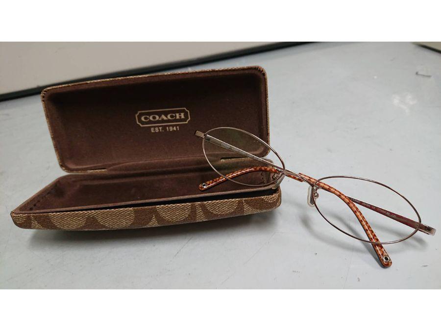 COACHの眼鏡を買い取りました